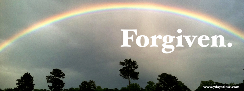 FB Cover Photo Forgiven