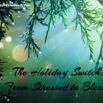 The Holiday Switch: From Stressed to Blessed (Army Wife Network)