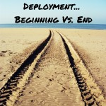 A Comedic Comparison: Deployment Beginning Vs. End