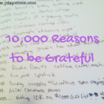 10,000 Reasons to be Grateful